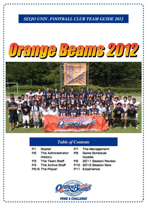 Orange Beams 2012