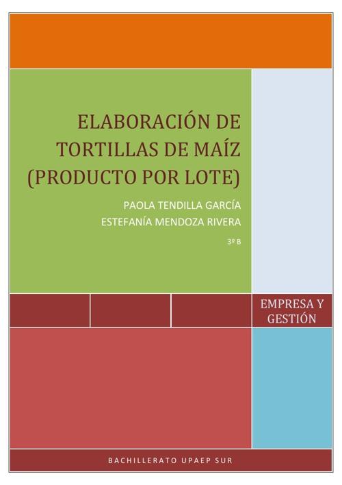 Elaboracion de la tortilla