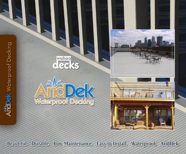AridDek Waterproof Aluminum Decking