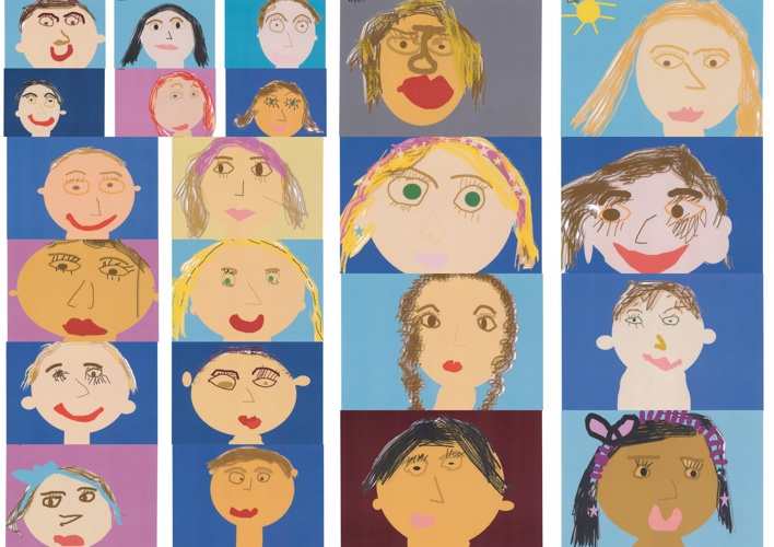 Self Portraits of Class 1YG