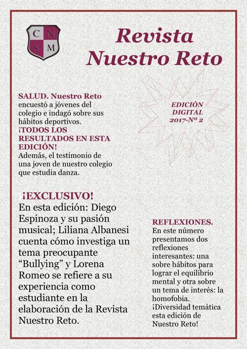 RevistaNuestroReto - 2º Edición - 2017 -