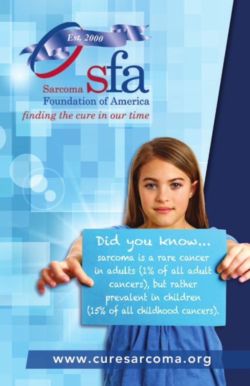 Sarcoma Foundation of America brochure