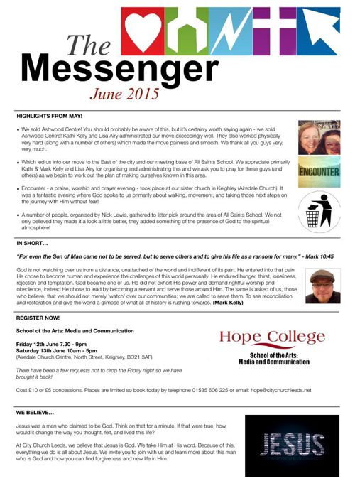 The Messenger - June 2015