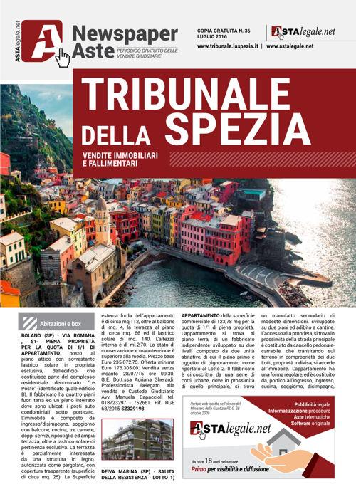 La Spezia luglio 2016