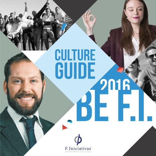 F. Iniciativas _ Culture Guide 2016