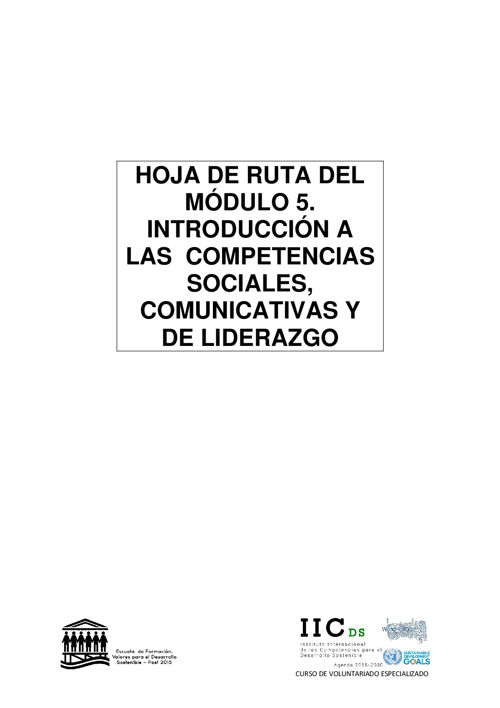 CVE HOJA DE RUTA