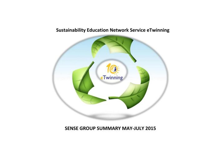 GROUP SENSE REVIEW MAY-JULY 2015