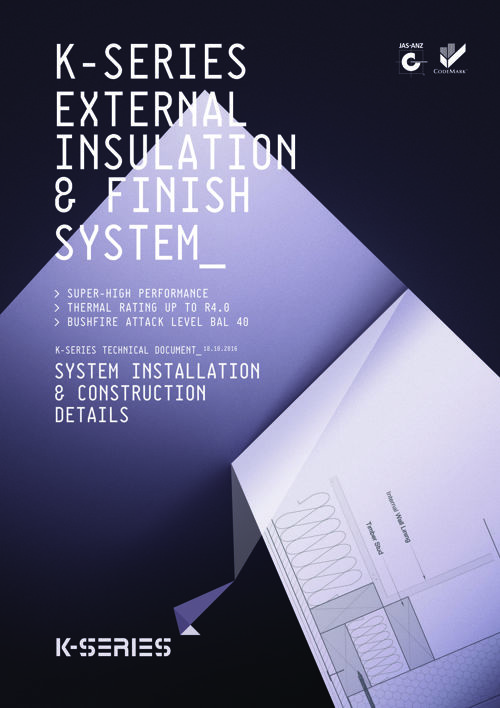 K-Series System Installation & Construction Details Manual