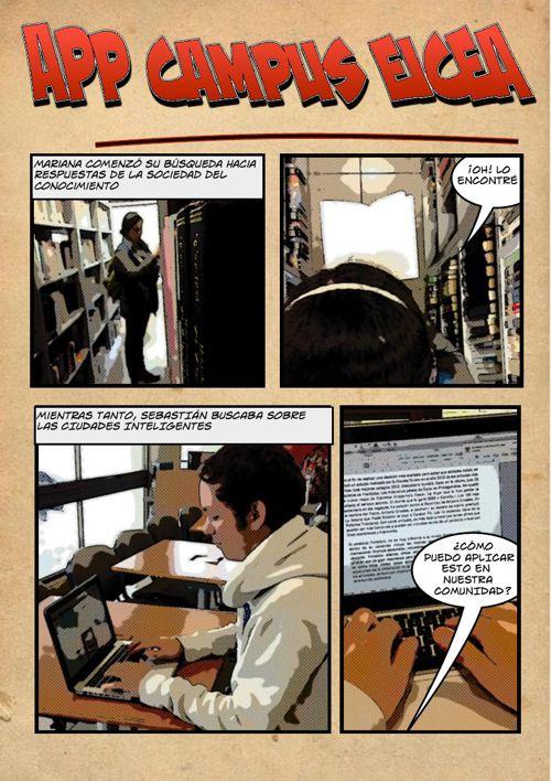 Comic App Campus EICEA