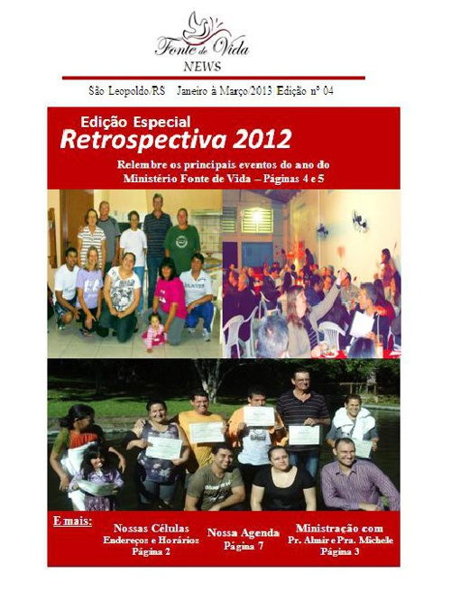 Informativo Janeiro/2013