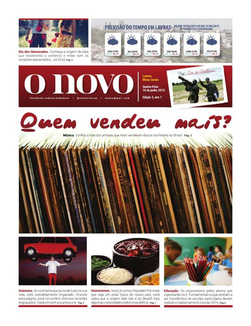 Jornal O NOVO - 03