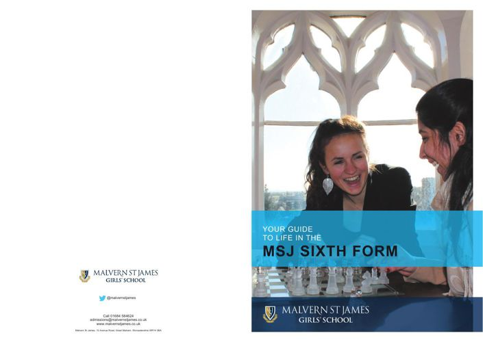 MSJ Guide to Life in Sixth Form 2015 AW