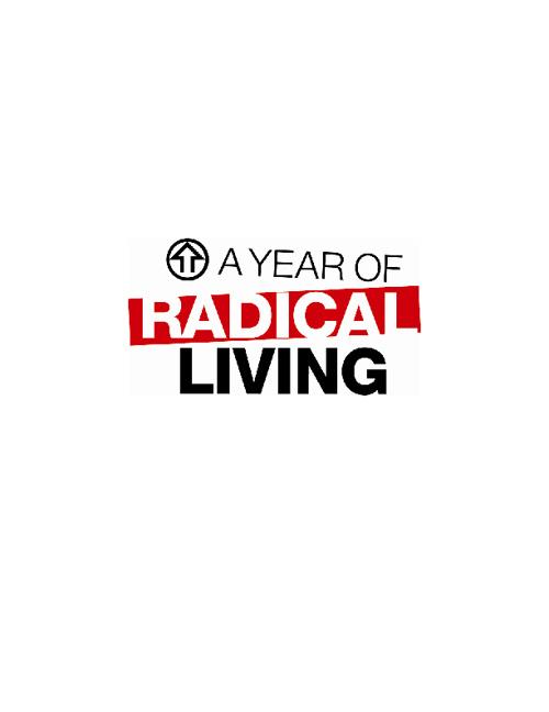 Year of Radical Living Book
