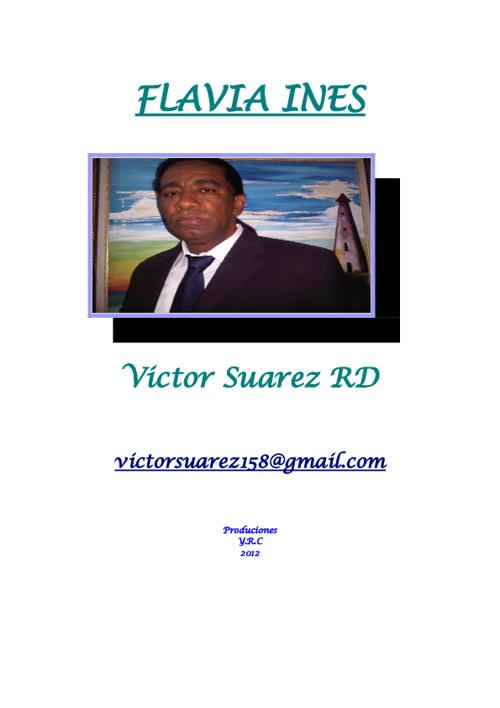 Flavia Ines, por: Victor Suarez
