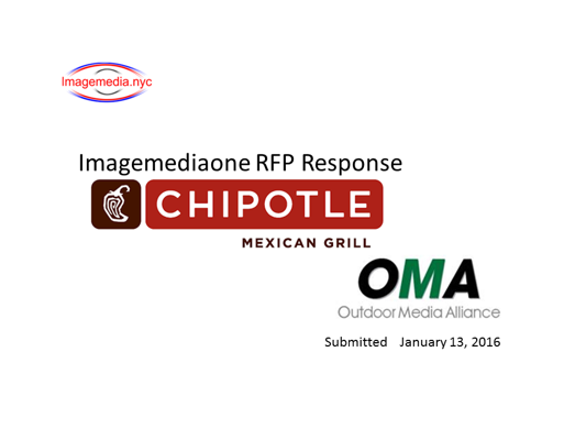 Chipotle RFP