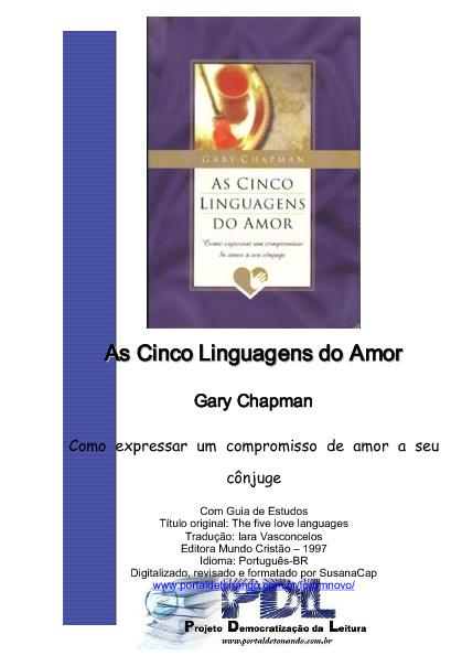 As 5 Linguagem do Amor
