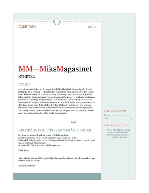 MM - MiksMagasinet Februari