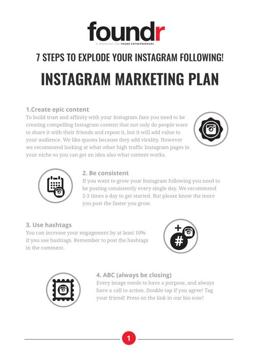 Instagram Marketing Cheatsheet