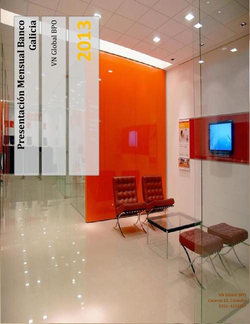 Presentación Banco Galicia