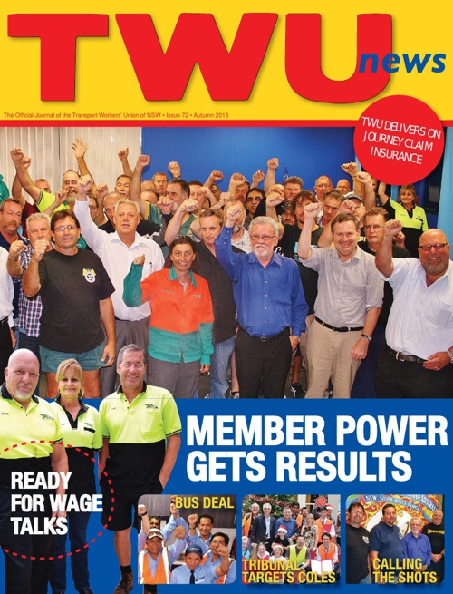 TWU News Autumn 2013