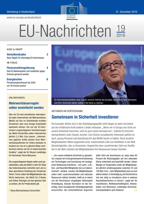 EU-Nachrichten #19