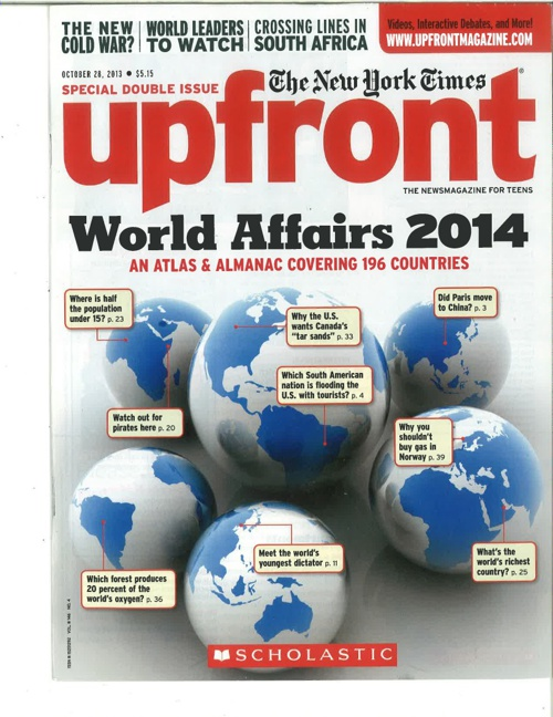 World Affairs 2014; Upfront Almanac