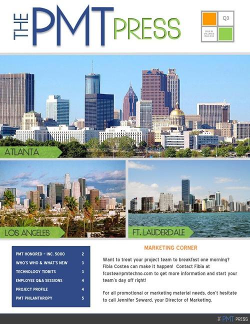 PMT Press - Q3 2014