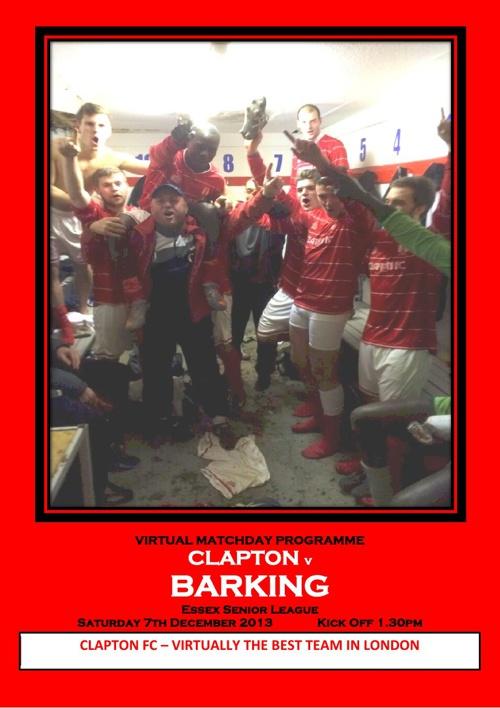 Clapton FC v Barking FC
