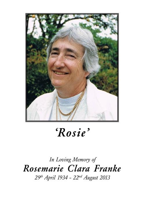 Rosemarie Franke