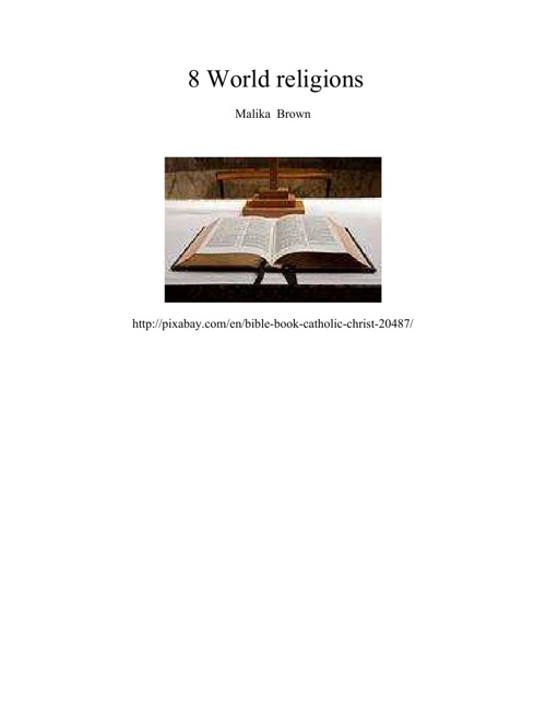 8 world religions
