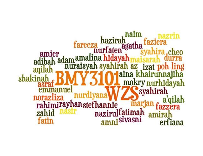 BMY3101 WORDLE