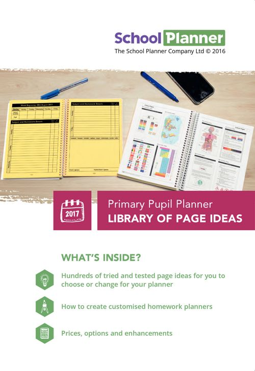 Primary Planner Guide and Library