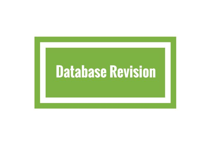 Database Revision