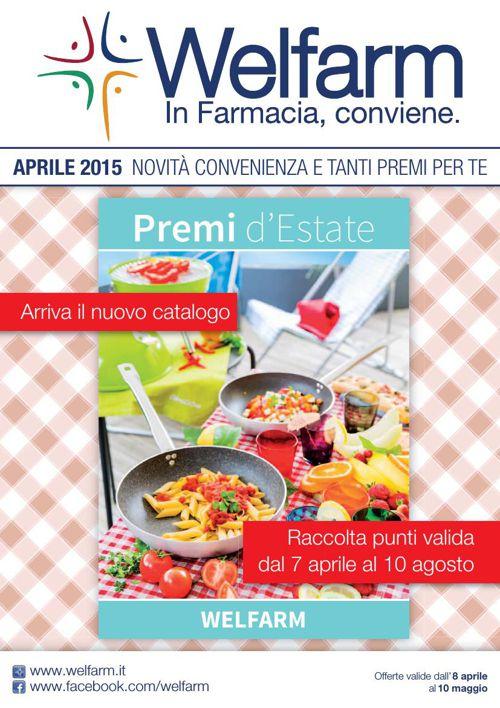Volantino Farmacie Welfarm - Aprile 2015