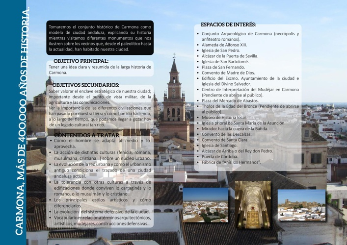 Ruta CARMONA, MÁS DE 400.000 AÑOS DE HISTORIA