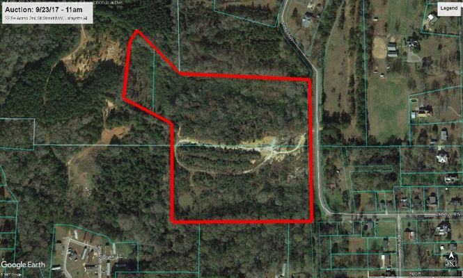 Auction 9-23-17  Tract 1 - 23.9± Acres