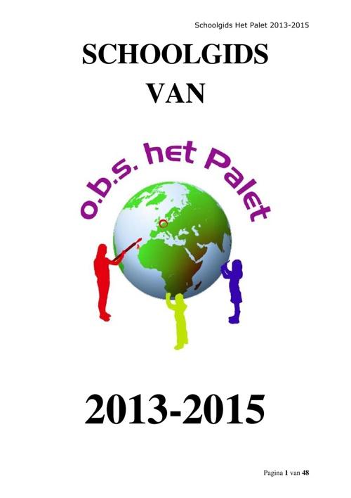 schoolgids 2013-2015