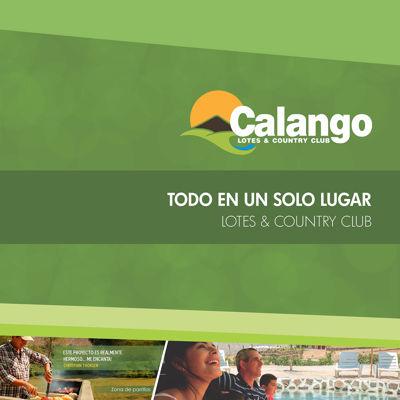 CATALOGO VIRTUAL CALANGO LOTES & COUNTRY CLUB