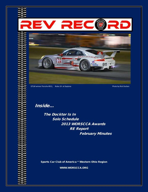 March 2014 Rev Record