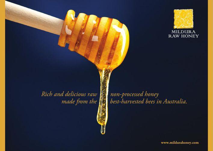 Mildura Raw Honey - NOT the typical commercial Honey