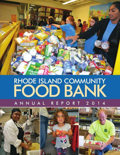 2014 RI Community Food Bank Annual Report