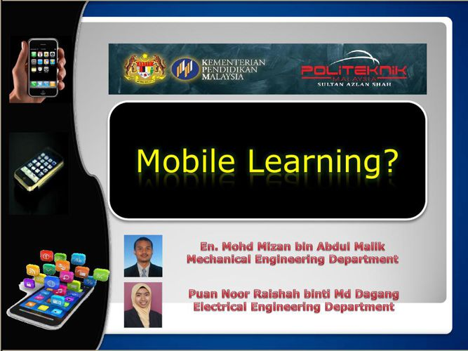 Presentation m-Learning
