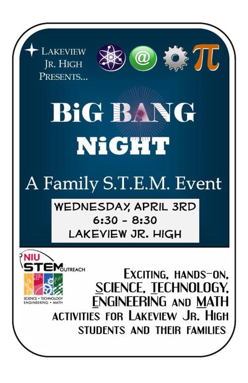 2013 BiG BaNG NiGHT - Family STEM Event