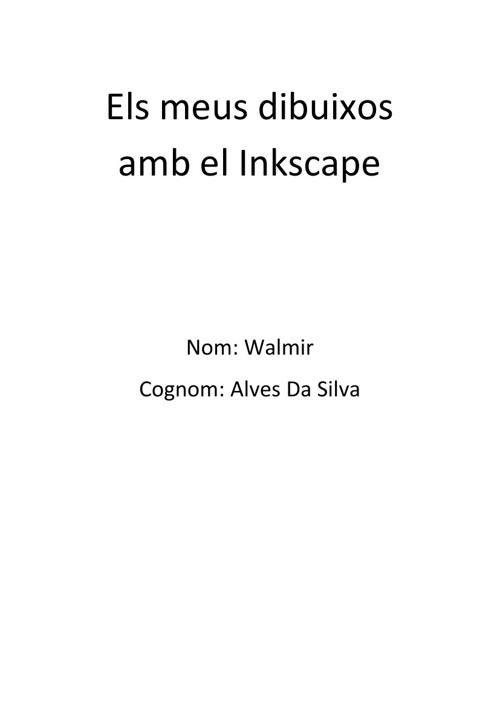 La meva presentacion amb el Inkscape