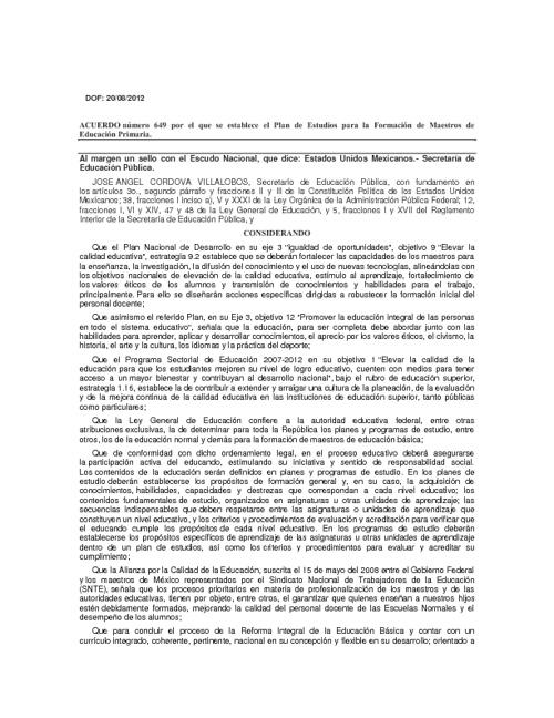 Acuerdo 649