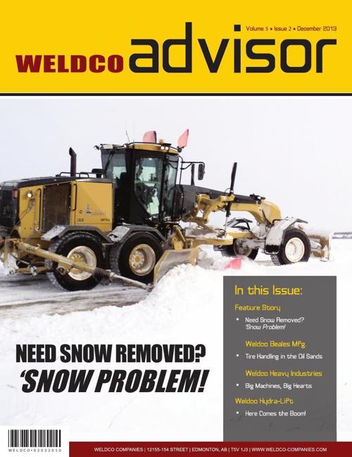 Weldco Advisor - Volume 5 | Issue 2 | December 2013