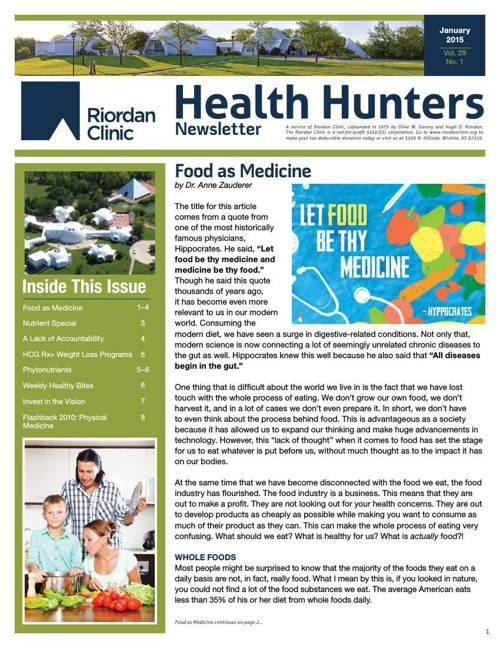 Health Hunters-Jan '15