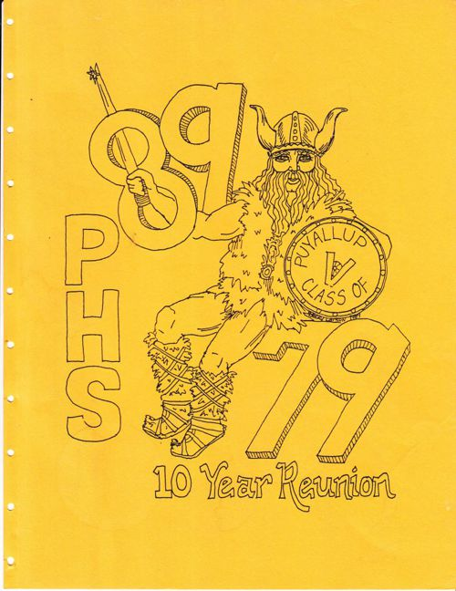 PHS Class of '79 10-Year Reunion Book