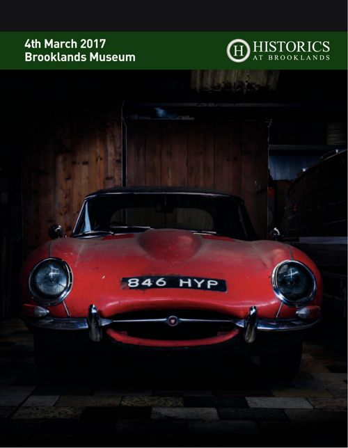 Historics at Brooklands March 2017