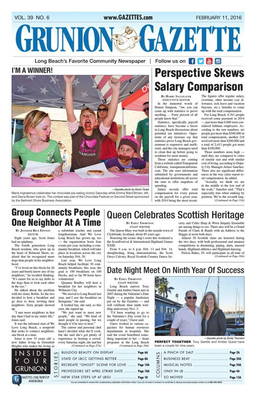Grunion Gazette | February 11, 2016